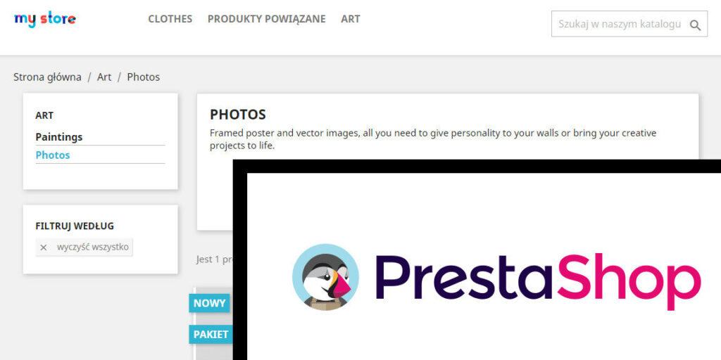 Podświetlanie aktywnej kategorii Prestashop 1.7