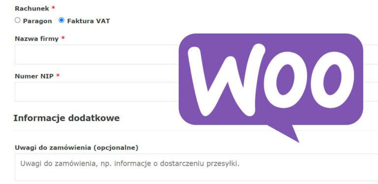 Paragon czy faktura VAT w WooCommerce. Pole wyboru dowodu zakupu w zamówieniu WooCommerce. Pokazujemy 100% darmowy sposób - tutorial krok po kroku!